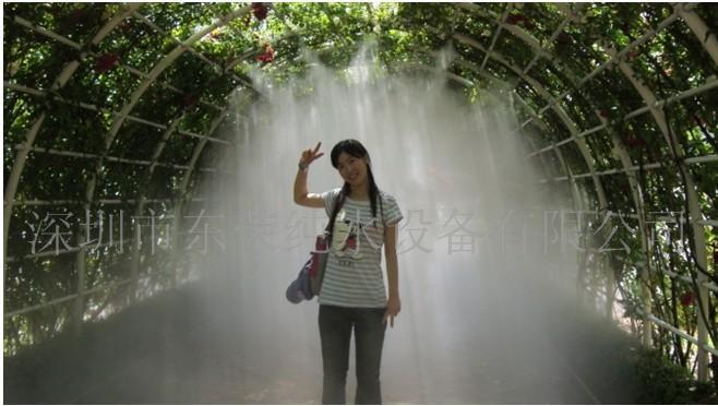 供应生态园林植物园大棚苗圃高压喷雾降温冷雾