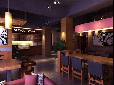 咖啡店面装修风格图图片 店面装修风格,女装店面装修风格
