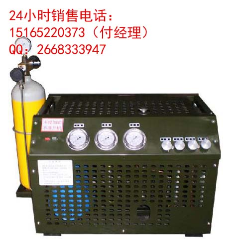 cng加气站管路试压用空气压缩机 管道气密性空压机 油改气高清图片