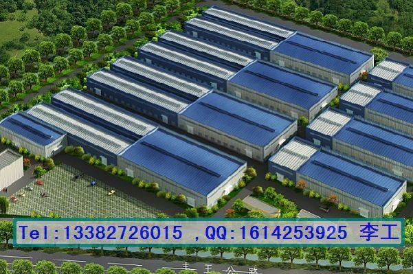 供应厂房 整体 规划效果图, 钢结构 厂房 整体 规划