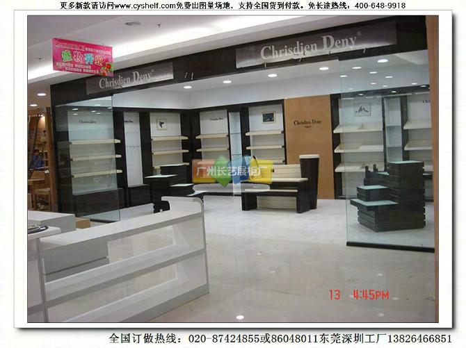 鞋店展柜设计,鞋子展柜图片 鞋店鞋架装修效果 鞋店门头-鞋架设