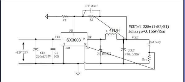 大电流恒流恒压 电源芯片 sx3003