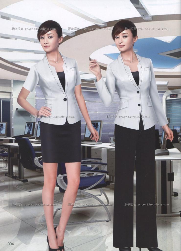 兰州职业装哪家好,时尚潮流最新图片定做找西蒂鸟生产