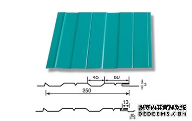 供应250吊顶板—压型 钢结构