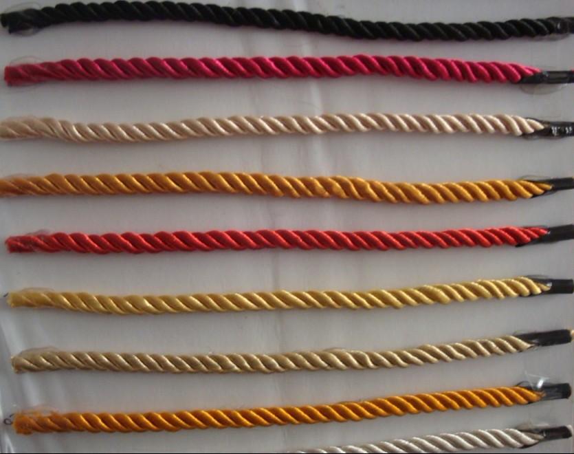 发带的织法图解