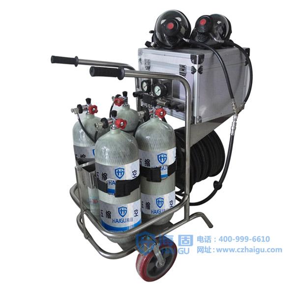 固�ych_供应海固chzk4/9f/30移动供气源车载式空气呼吸器