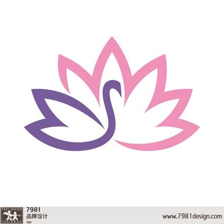天鹅图形logo设计2—杭州7981兄弟