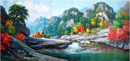 供应水彩风景画图片